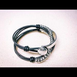 Bohemian Vintage Multilayer Wrap leather bracelets